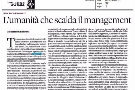 """VESCOVI – Lezioni inattese di marketing"" recensito sul Domenicale del Sole24ore"