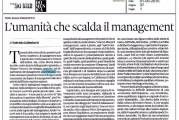 """""""VESCOVI – Lezioni inattese di marketing"""" recensito sul Domenicale del Sole24ore"""